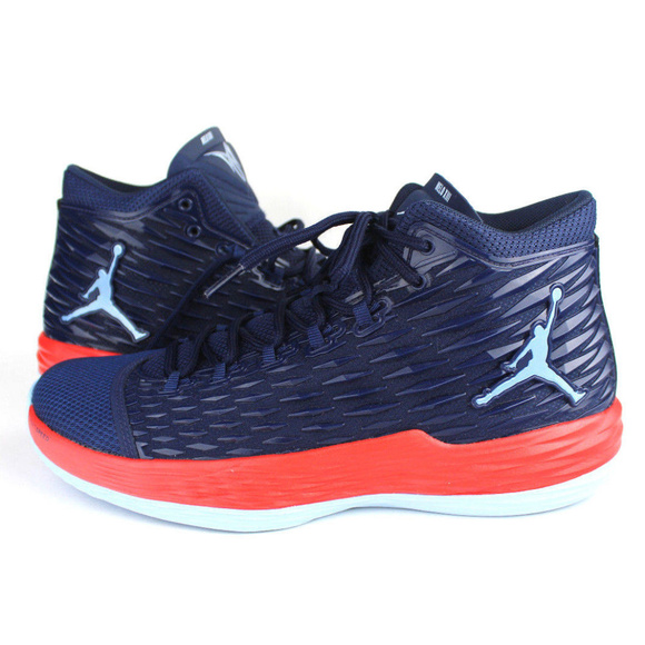8ffd6383ecc NIKE Shoes | Air Jordan Melo M13 Xiii Midnight Navy Size 9 | Poshmark